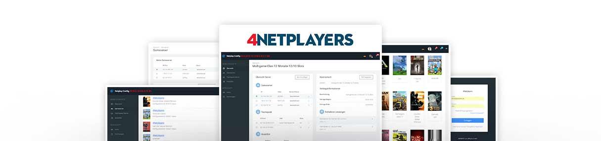 4netplayers webinterface