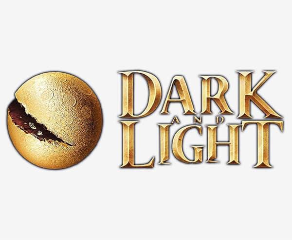 dark and light image